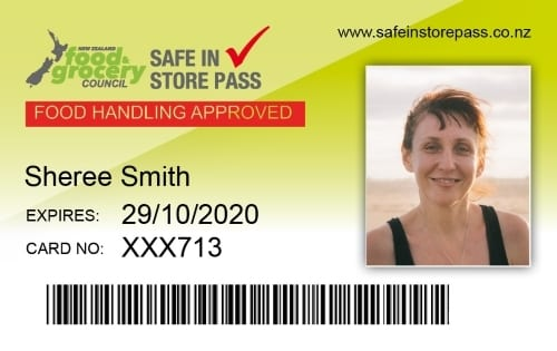 Safe In-Store Pass